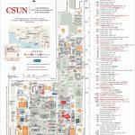 Csun Maps | California State University, Northridge - Full Map Of California
