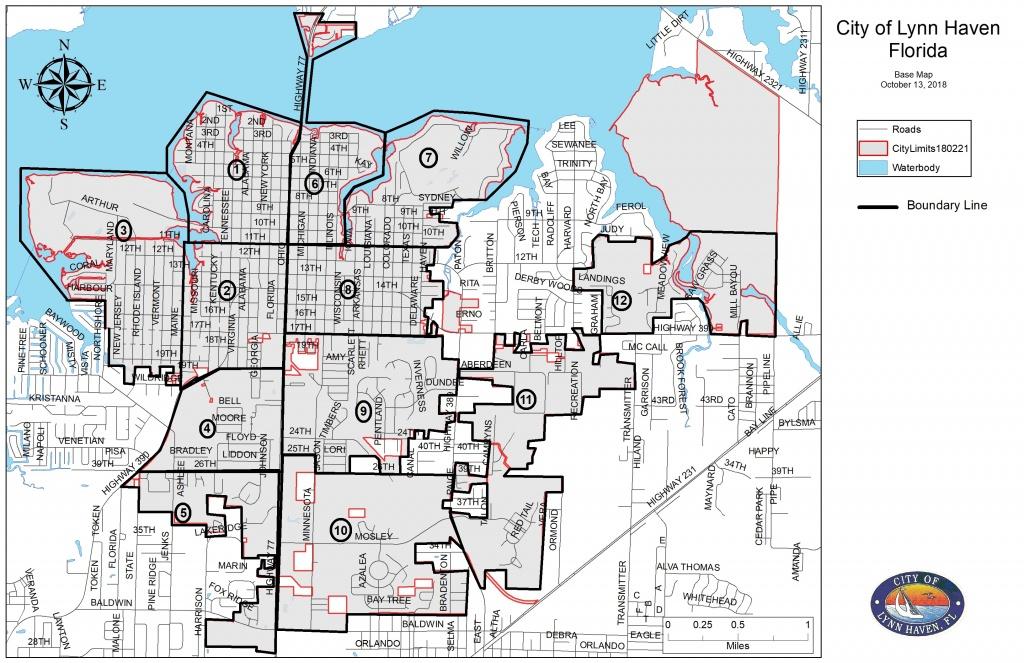 Curbside Debris Placement Deadline - February 17Th 2019 | Lynn Haven - Lynn Haven Florida Map