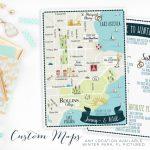Custom Wedding Map Any Location Available Winter Park Florida | Etsy   Winter Park Florida Map