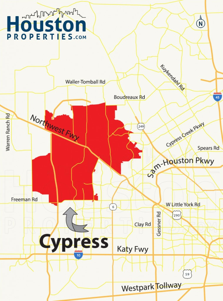 Cypress Tx Real Estate Guide | Cypress Homes For Sale - Show Me Houston Texas On The Map