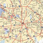 Dallas Texas City Map   Dallas Texas Usa • Mappery   Dallas Map Of Texas