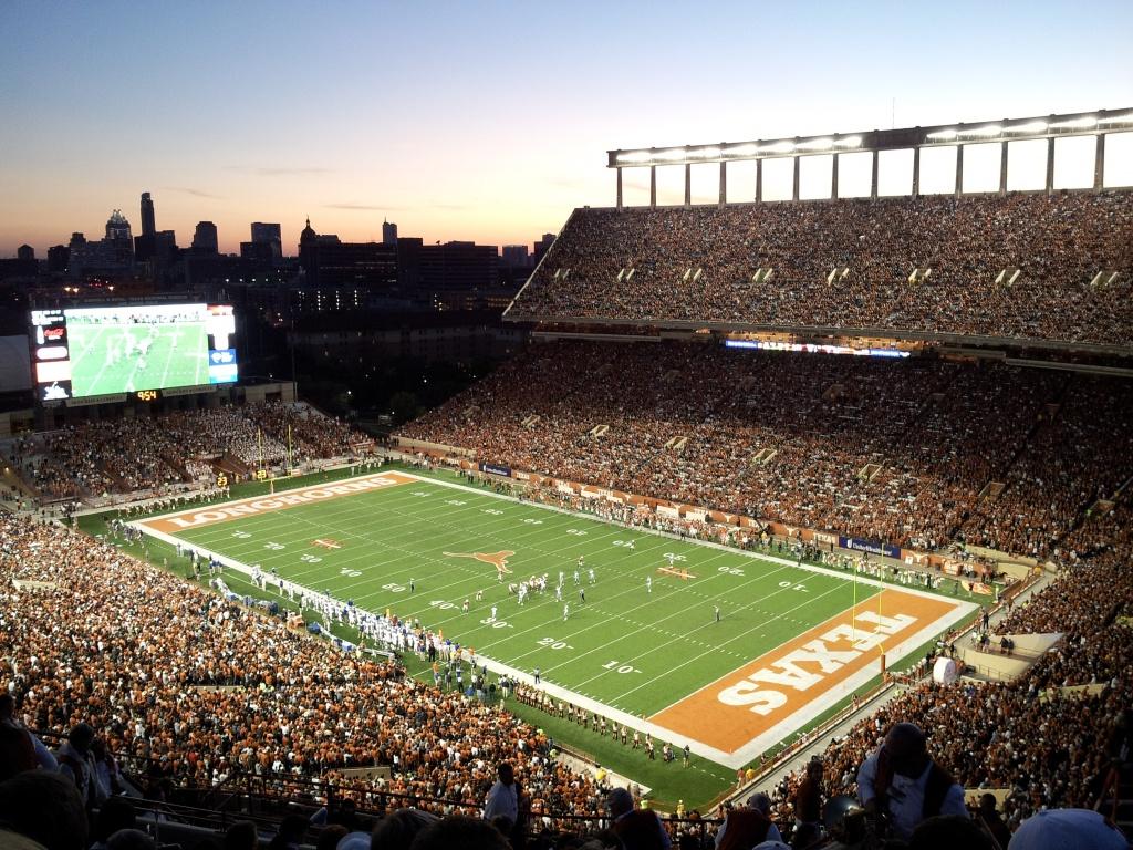Darrell K Royal–Texas Memorial Stadium - Wikipedia - University Of Texas Football Stadium Map