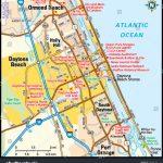 Daytona Beach, Florida Area Map Stock Photo 139162133   Avopix   Map Of Daytona Beach Florida
