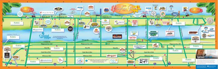 Map Of Daytona Beach Florida