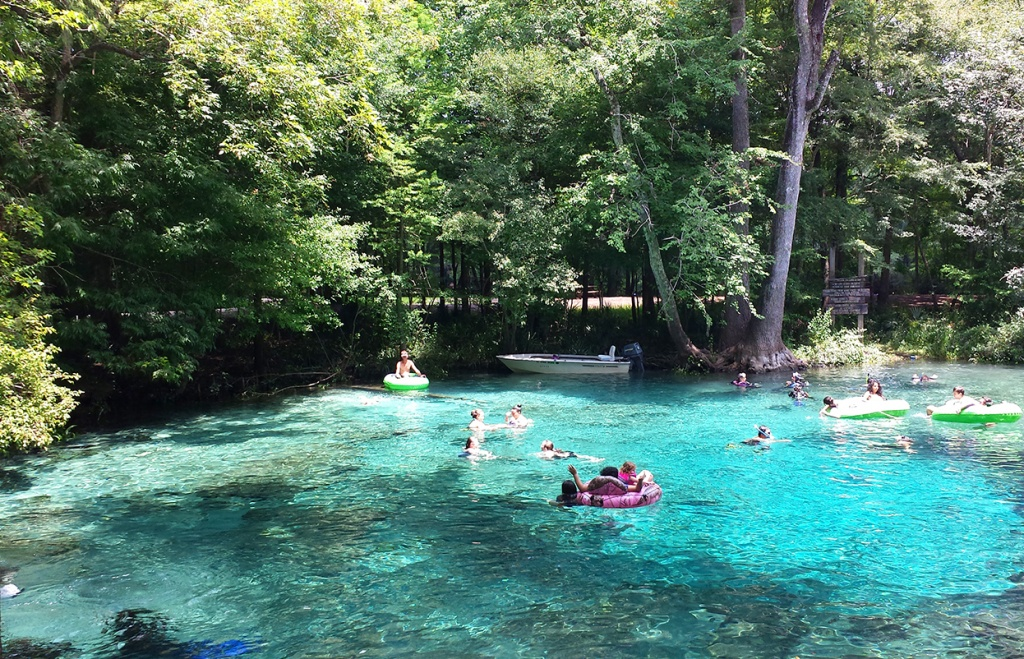 Daytrip To The Beautiful Ginnie Springs, Florida – Chasing Wildgusts - Ginnie Springs Florida Map