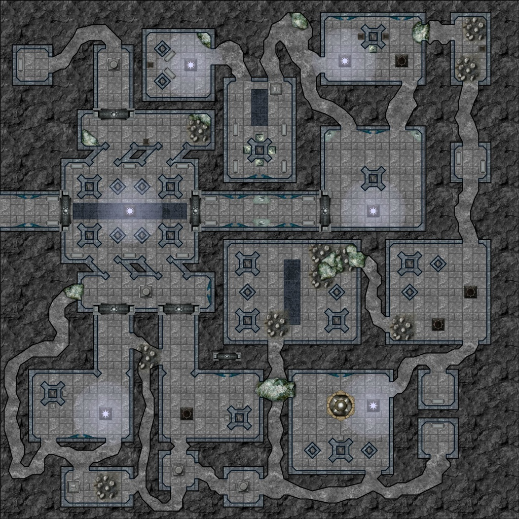 D&d Maps I've Saved Over The Years: Dungeons/caverns - Album On Imgur - D&d Printable Maps