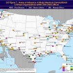 Dea Maps Show Where Mexican Drug Cartels Hold Sway In Texas   Atlanta Texas Map