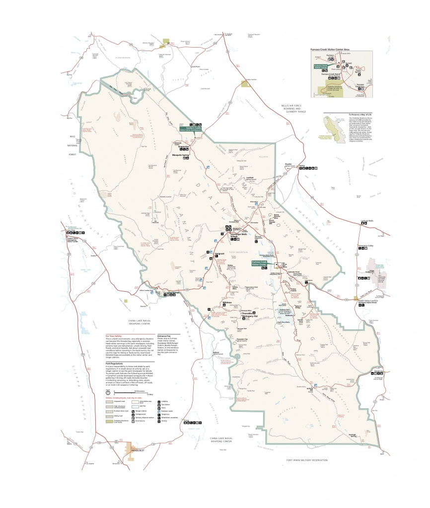 Death Valley Maps | Npmaps - Just Free Maps, Period. - Death Valley California Map