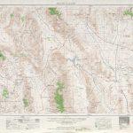 Death Valley Topographic Maps, Ca, Nv   Usgs Topo Quad 36116A1 At 1   Usgs Topo Maps California