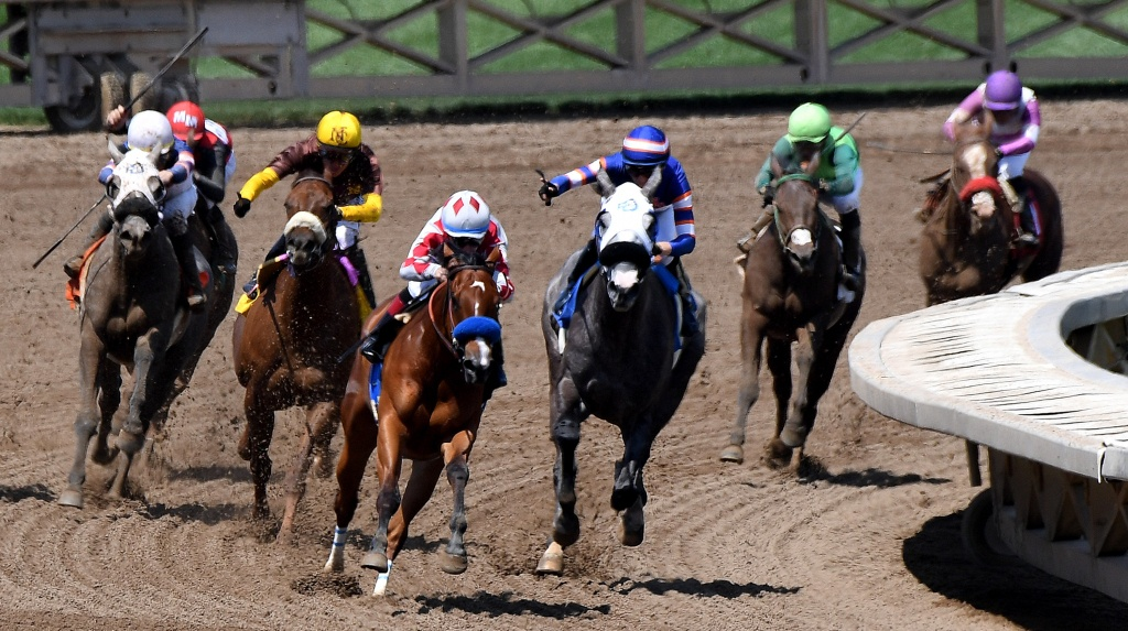 Delayed: Meeting To Discuss Moving Horse Racing Out Of Santa Anita - Horse Race Tracks In California Map