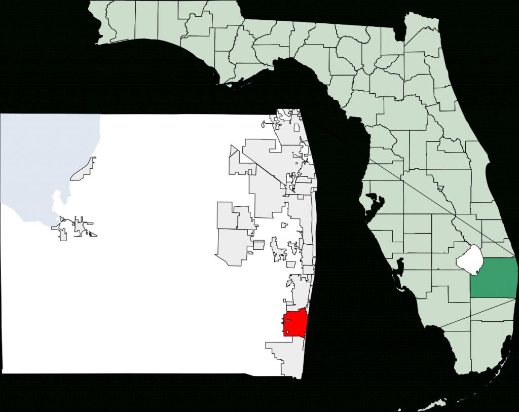 Delray Beach, Florida - Wikipedia - Florida Public Beaches Map
