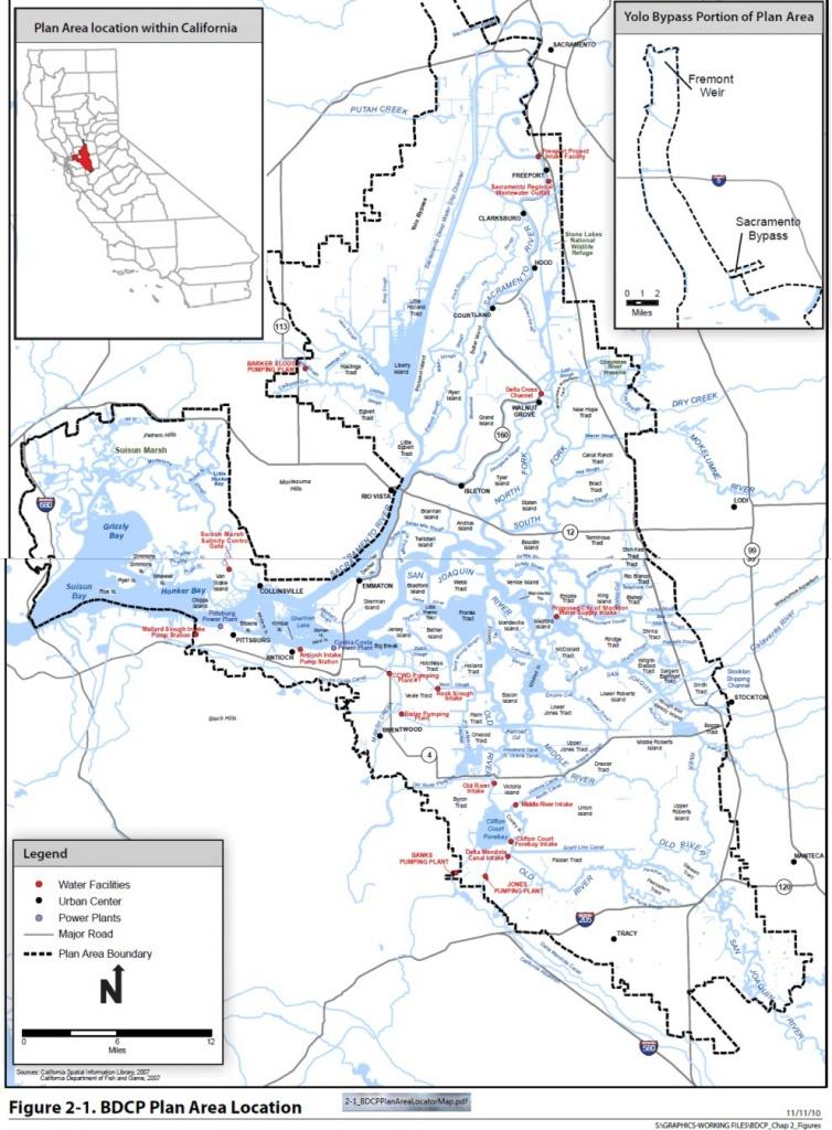 Delta Maps – Deltacalifornia - California Delta Map