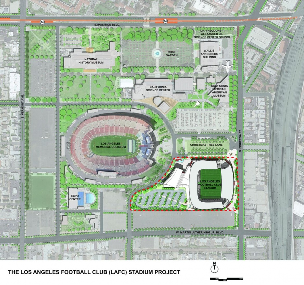 Design: Banc Of California Stadium – Stadiumdb - Banc Of California Stadium Map