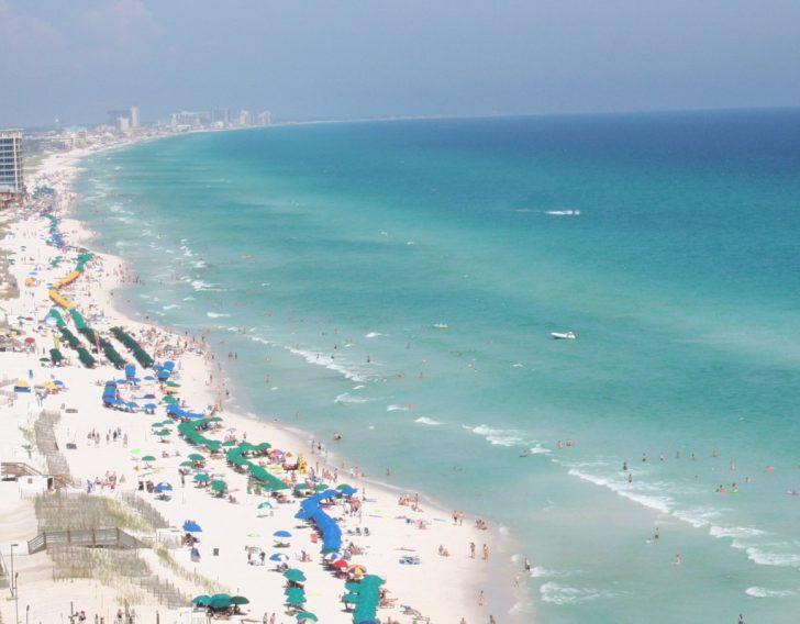 Destin Florida Weather Map
