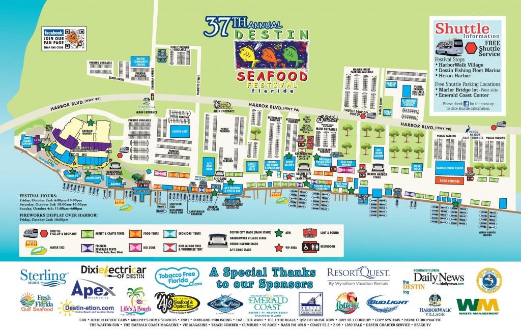 Destin Florida Map | Travel | Destin Florida Vacation, Destin - Destin Florida Map