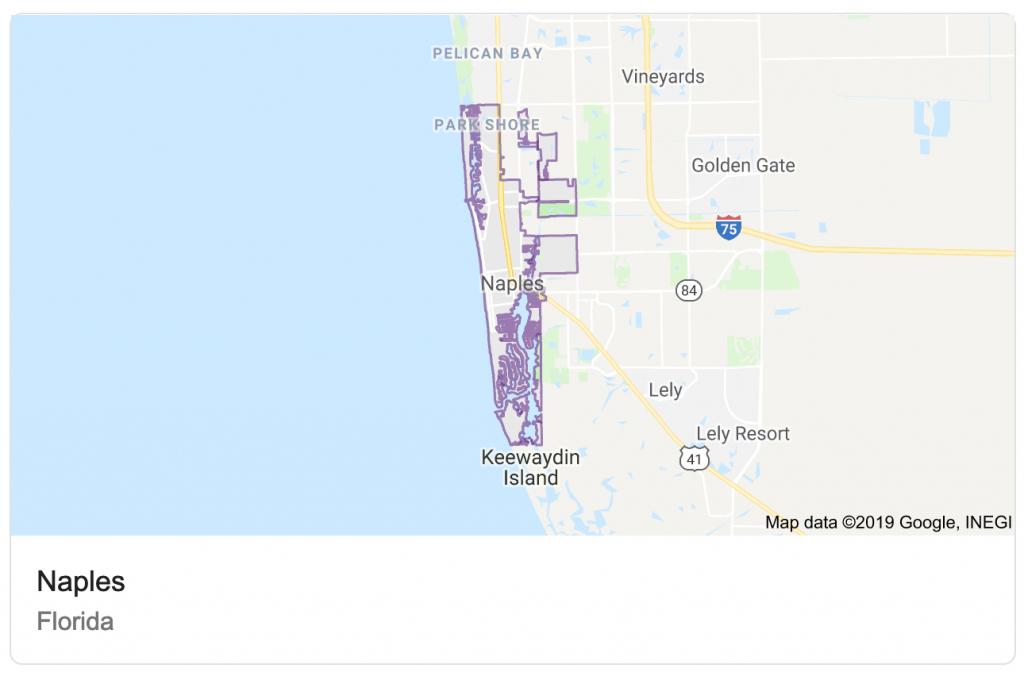 Destin Vs. Naples - Where Is Destin Florida Located On The Florida Map