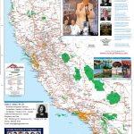 Detailed California Road / Highway Map   [2000 Pix Wide   3 Meg   Northern California Highway Map