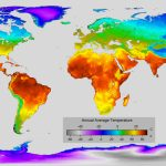 Detailed Map Of Annual Average Temperature Around The World : Mapporn   Florida Temp Map