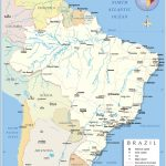 Detailed Map Of Brazil   Nations Online Project   Free Printable Map Of Brazil