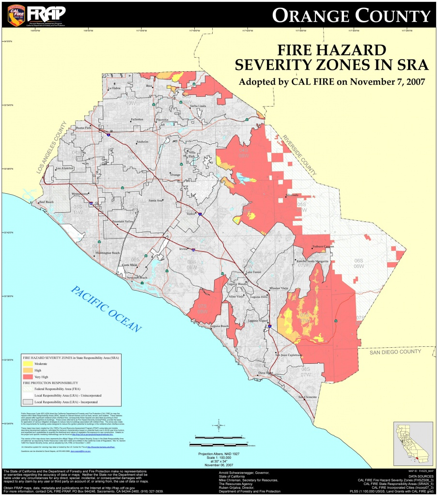 Detailed Map Of Orange County California And Travel Information - Orange County California Map