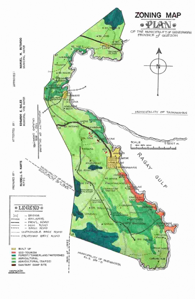 Detailed Map Of Quezon Province | Download Them And Print - Printable Quezon Province Map