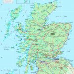 Detailed Map Of Scotland   Printable Map Of Scotland With Cities