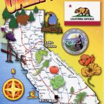 Detailed Tourist Map Of California State. California State Detailed   California Tourist Map