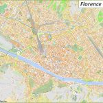 Detailed Tourist Maps Of Florence | Italy | Free Printable Maps Of   Printable Map Of Florence