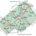 Dewitt County | The Handbook Of Texas Online| Texas State Historical   Yoakum County Texas Map