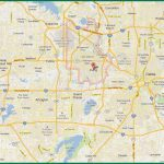 Dfw Area Map   Map Of Dfw Area (Texas   Usa)   Printable Map Of Fort Worth Texas