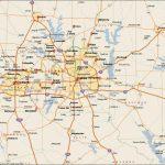 Dfw Metroplex Map   Dallas Fort Worth Metroplex Map (Texas   Usa)   Dallas Map Of Texas