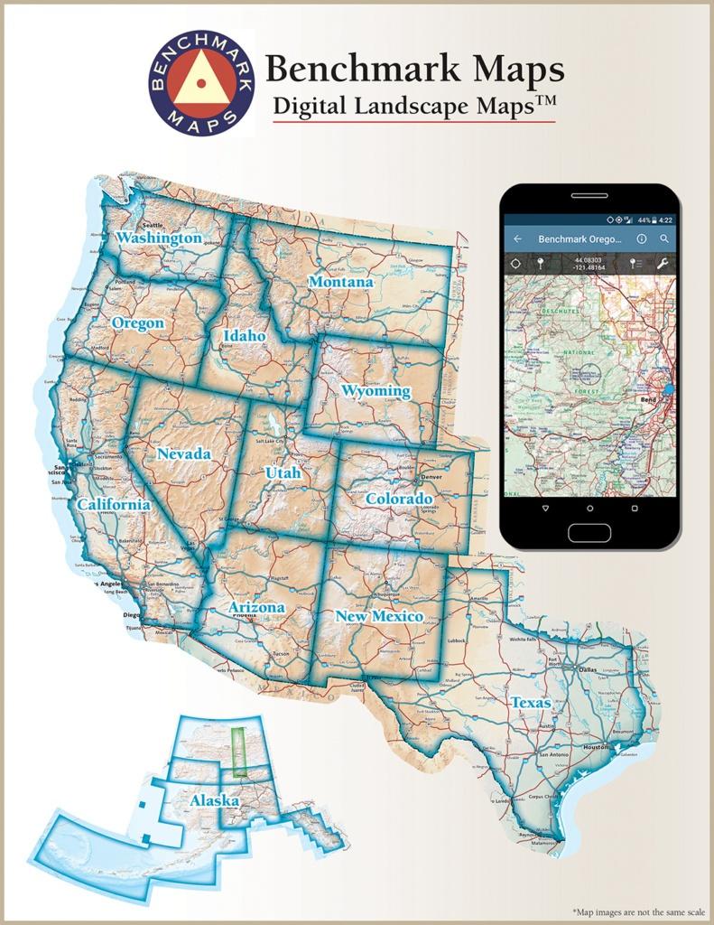 Digital Maps — Benchmark Maps - Benchmark Maps California
