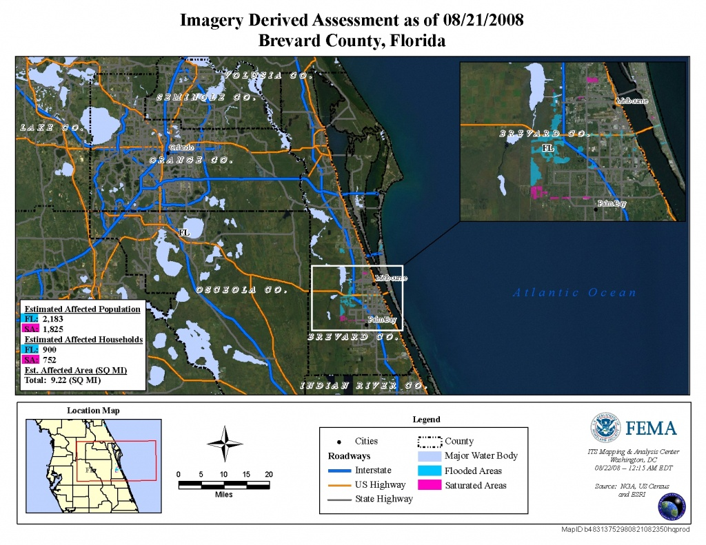 Disaster Relief Operation Map Archives - Fema Flood Maps Brevard County Florida