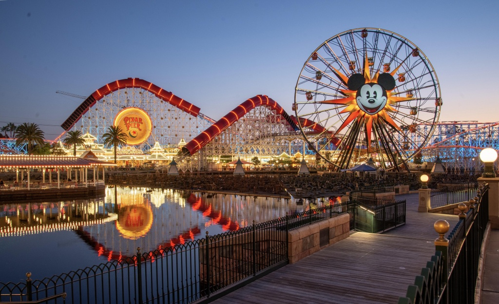 Disney California Adventure - Wikipedia - California Adventure Map 2017 Pdf