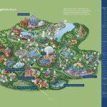 Disney La Carte   Walt Disney World Map (Floride   Usa)   Walt Disney Florida Map