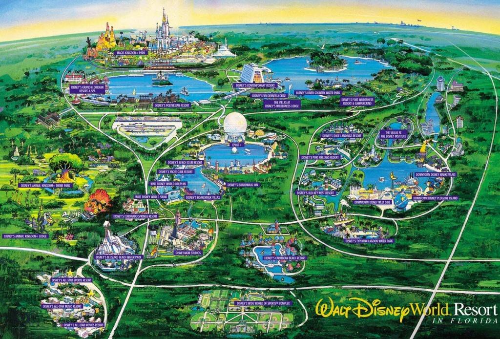 Disney World Live Suchart Family Disneyworld Vacation Pictures - Disney World Florida Map