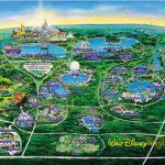 Disney World Map   Orlando • Mappery   Disney Springs Florida Map