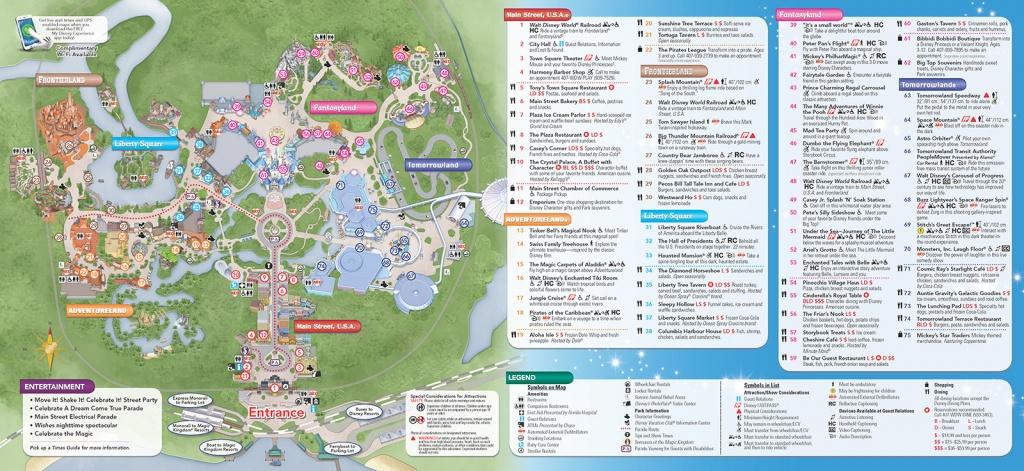 Disney World Theme Park Maps 2017 Disney Maps And Maps Of Disney - Printable Maps Of Disney World Theme Parks