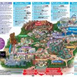 Disneyland California Adventure Park Map | Park Maps Disneyland Park   California Adventure Map 2017