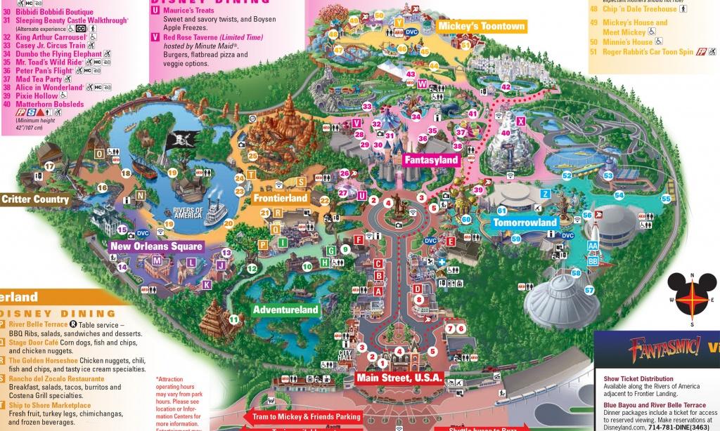 Disneyland Paris Map 2018 Pdf - Printable Disneyland Paris Map 2018
