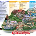Disneyland Park Map In California, Map Of Disneyland   California Adventure Map 2017 Pdf