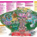 Disneyland Park Map In California, Map Of Disneyland Intended For   Printable Disneyland Map 2015