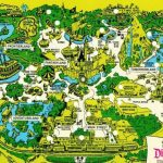 Disneyland's Evolution Through Maps   Printable California Adventure Map