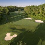 Disney's Lake Buena Vista Golf Course - Orlando, Florida - Map Of Central Florida Golf Courses