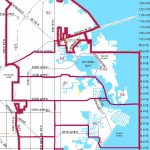 Districts   Map Of St Petersburg Florida Area