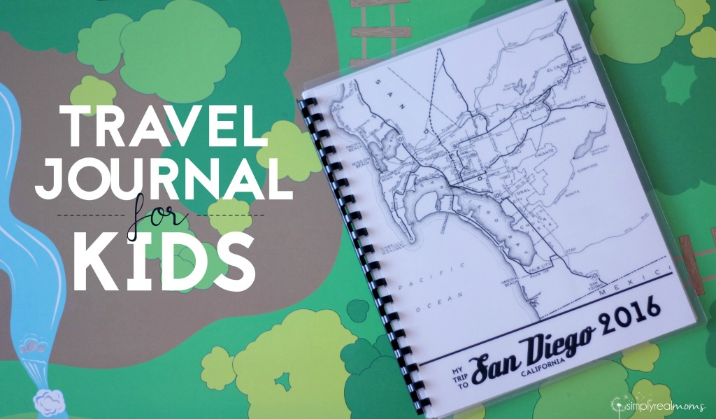 Diy Kids Travel Journal - Simply Real Moms - Printable Travel Maps For Kids