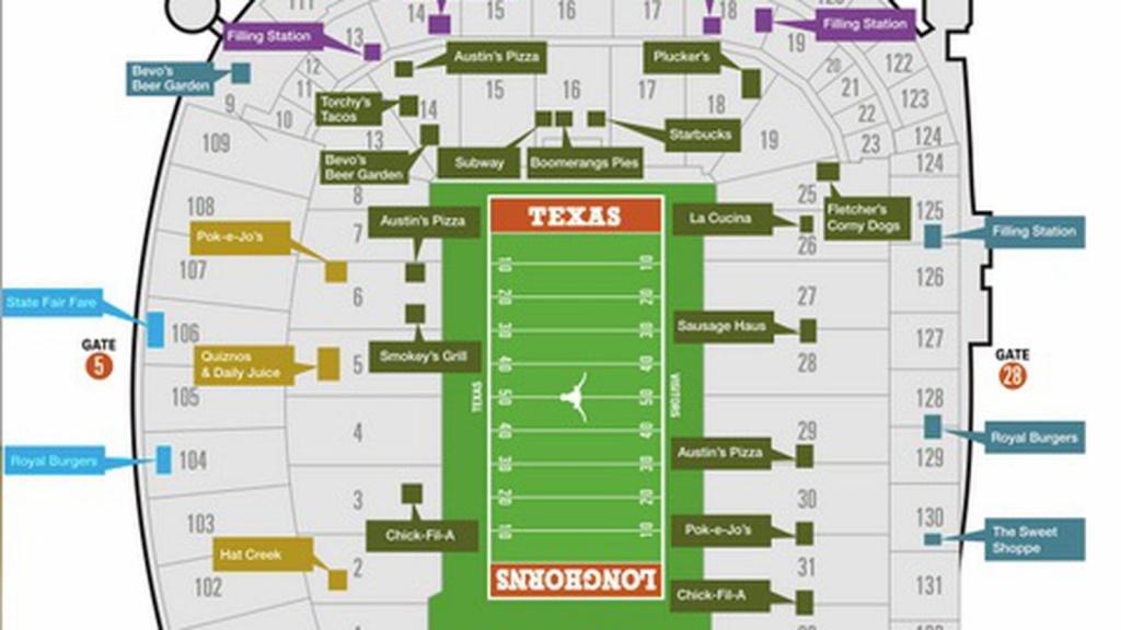 Dkr Stadium Map | Compressportnederland - University Of Texas Stadium Map