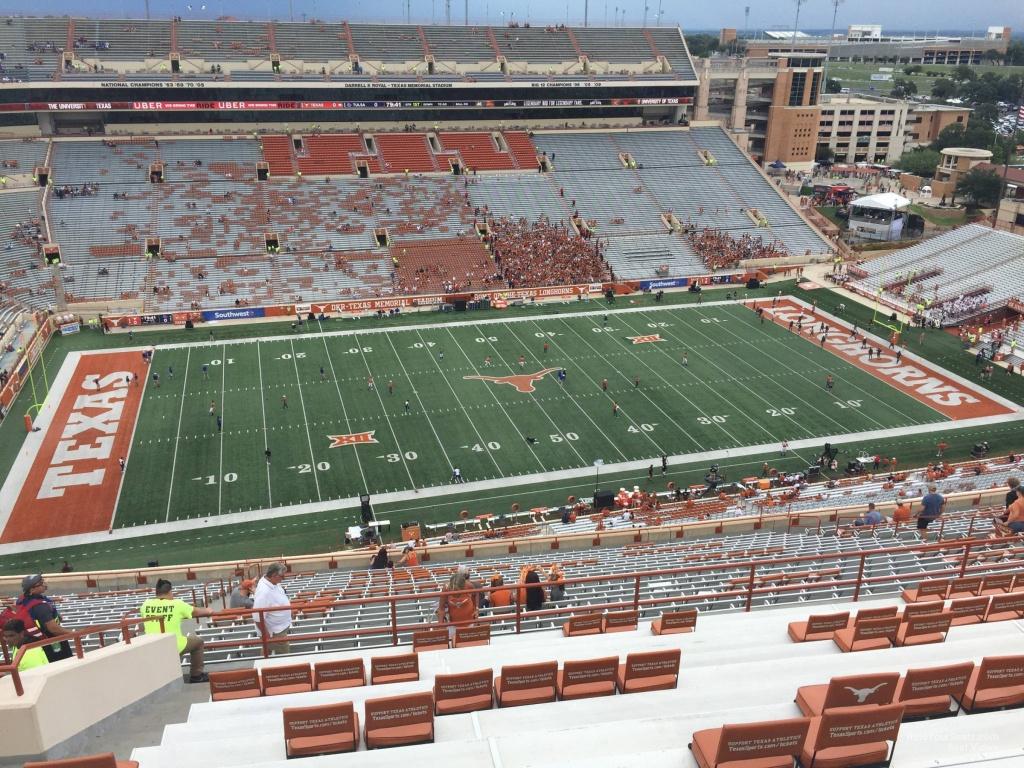 Dkr-Texas Memorial Stadium Section 106 - Rateyourseats - Dkr Texas Memorial Stadium Map
