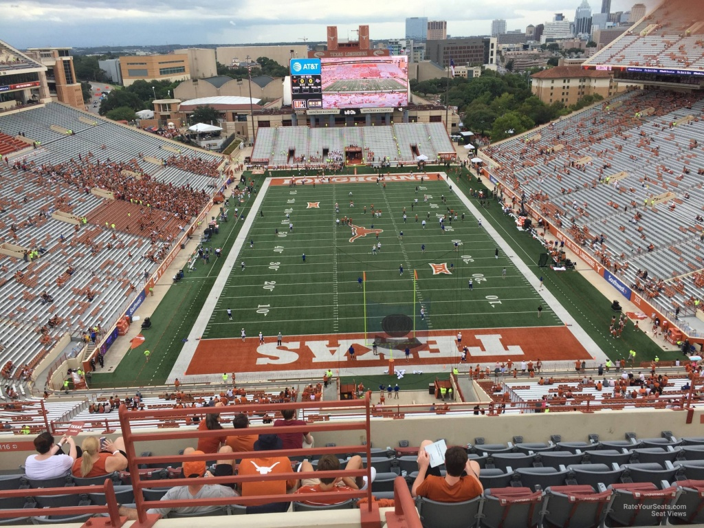 Dkr-Texas Memorial Stadium Section 116 - Rateyourseats - Dkr Texas Memorial Stadium Map