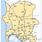 Do I Live Within San Diego Unified School District? | San Diego - San Diego County Zip Code Map Printable